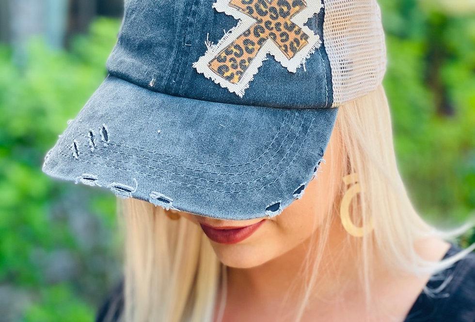 Cheetah Cross Ball Cap