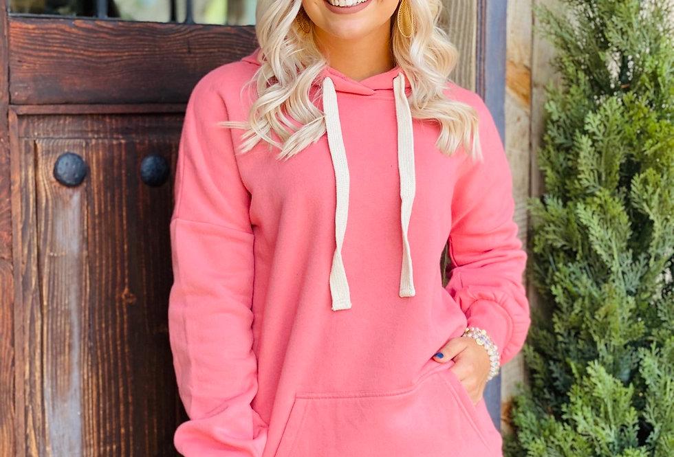 Cozy Hoodie in Pink