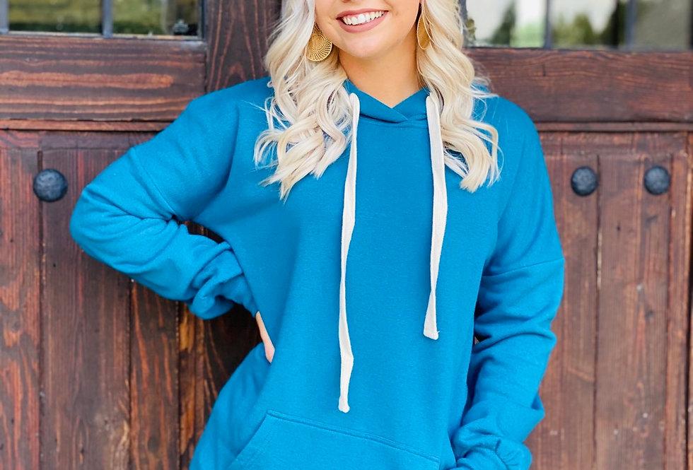 Cozy Hoodie in Blue