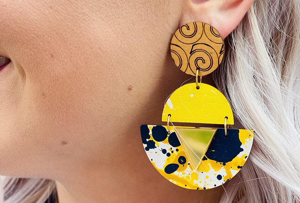 Paint The Town Earrings