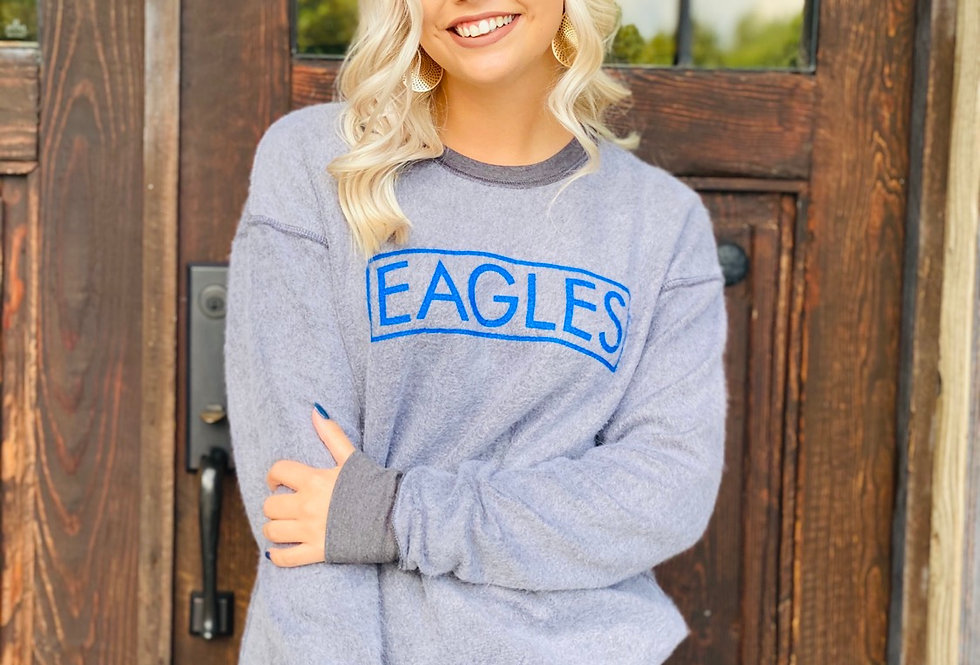 Inside Out Eagles Hoodie