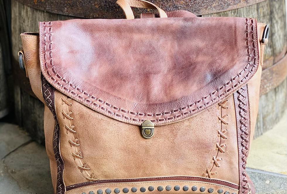 Bedstü Ariam Backpack Bag in Tan Rustic