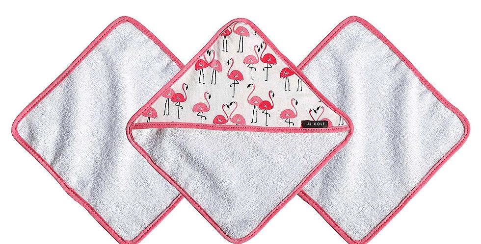 JJ Cole 3pk Washcloths