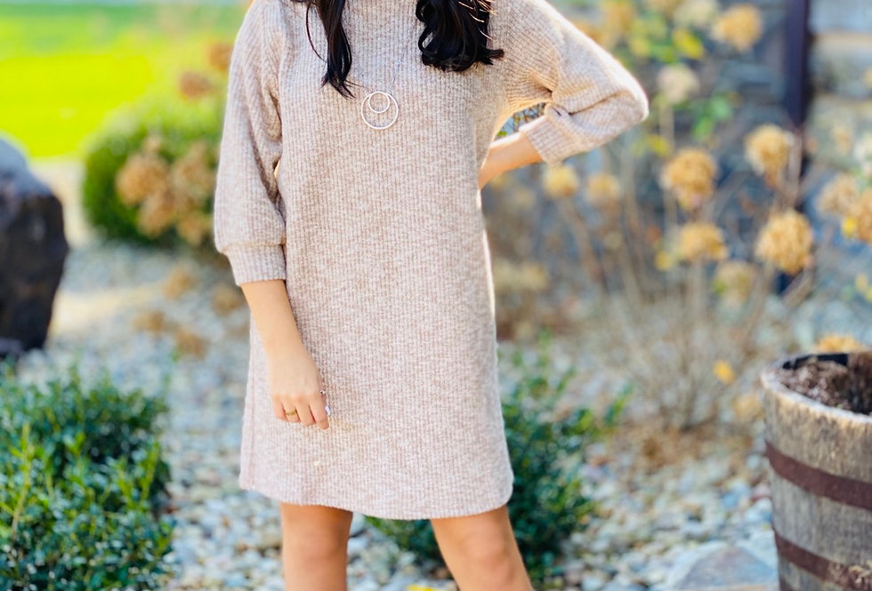 Lovely Little Thing Sweater Dress