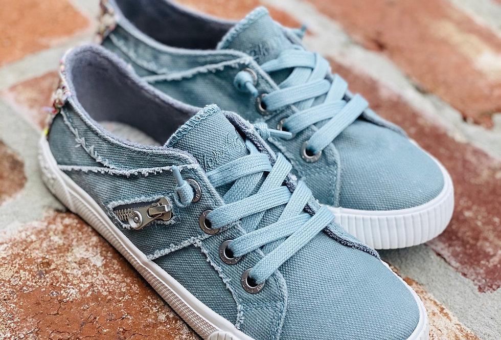 Blowfish Fruit Sneaker in Dusty Blue