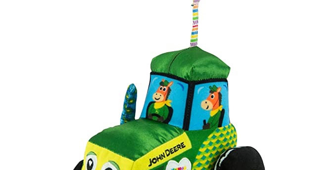 Lamaze John Deere Crinkle Tractor