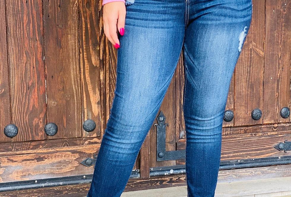 Jessica Mid Rise Skinnies