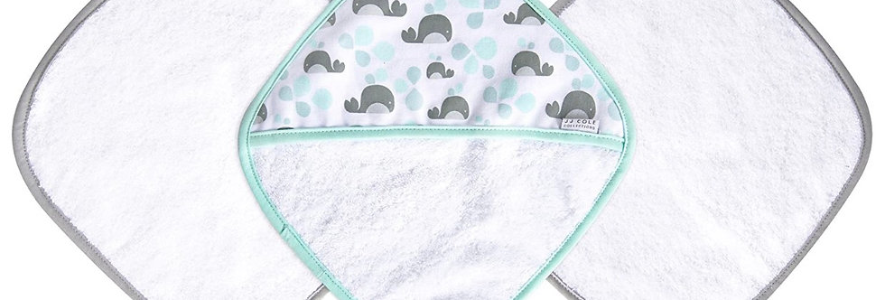 JJ Cole 3pk Washcloth Set