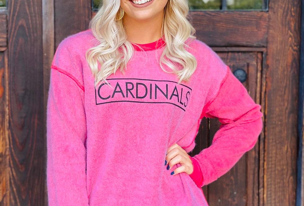 Inside Out Cardinals Sweatshirt