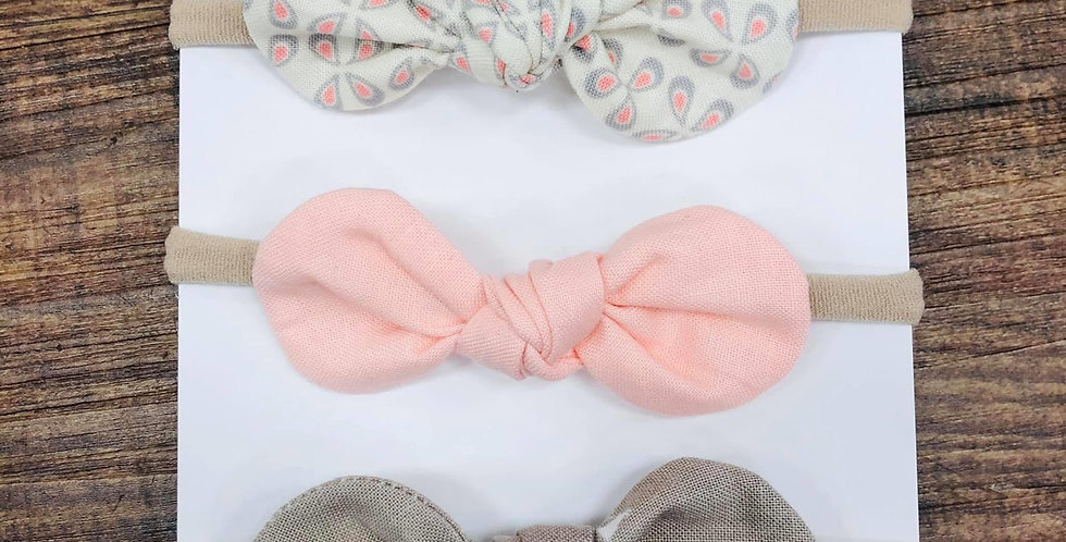 Bow Headband Set