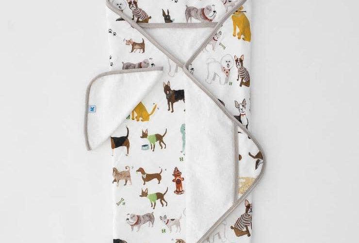 Little Unicorn Puppy Hooded Towel