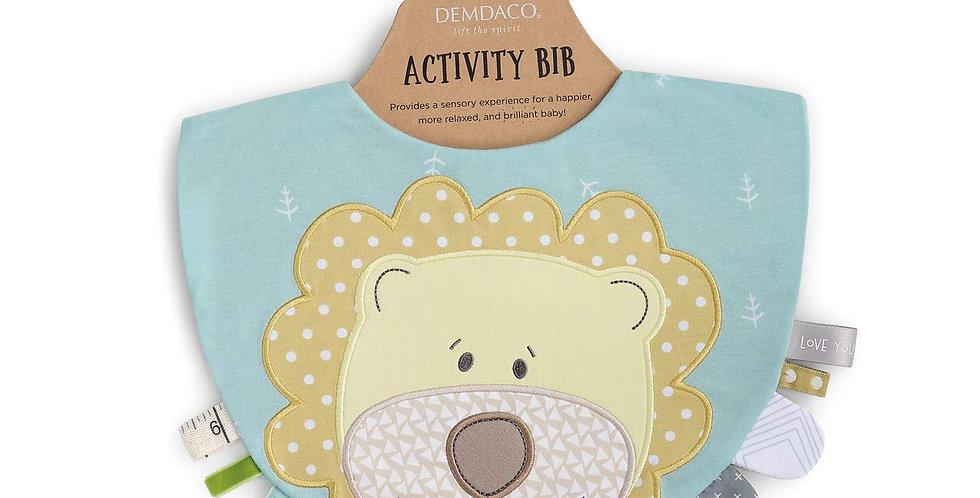 Lion Activity Bib