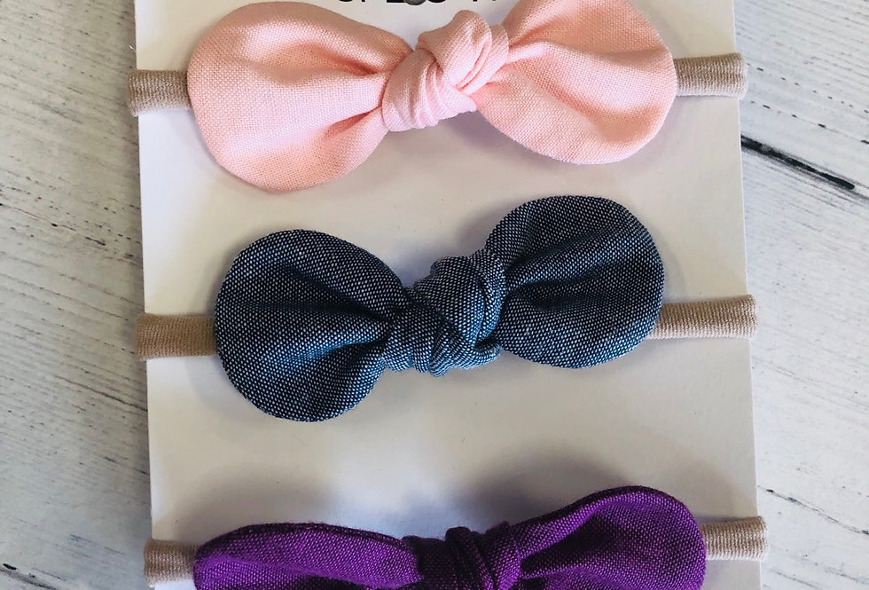 Headband Bow Set