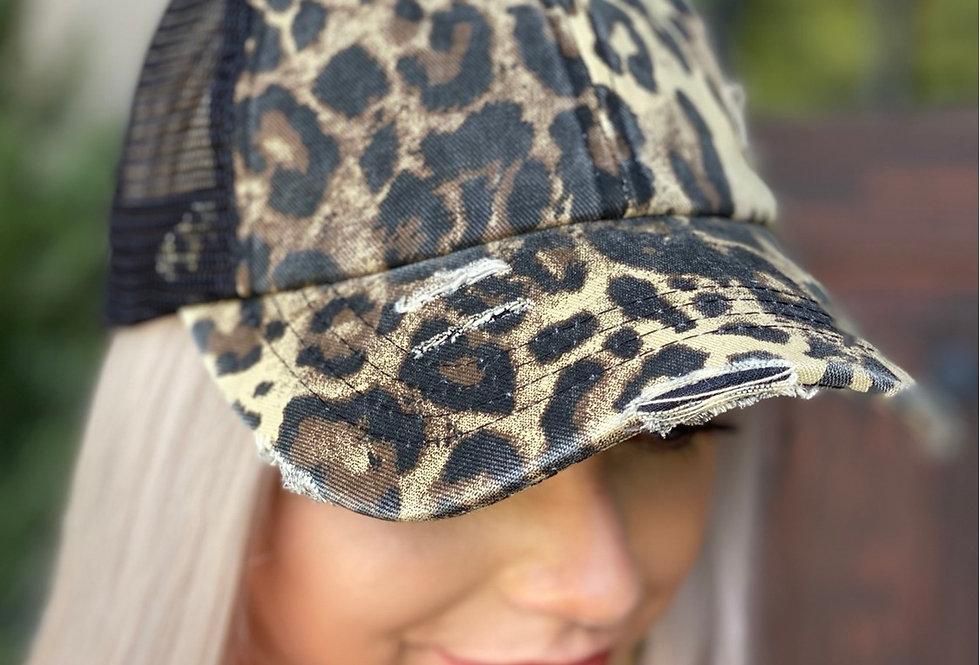 Cheetah Baseball Cap