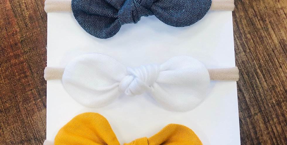 3 Pack Bow Set