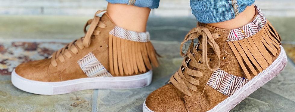 Crazy Little Fringe Sneakers