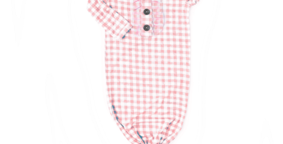 Gigi & Max Pink Gingham Gown