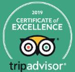 Trip Advisor Certificate of Excellence 2019 Birding Bob