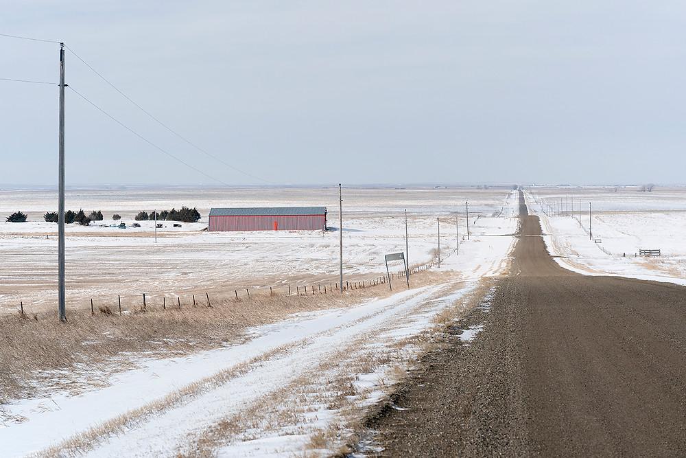 South Dakota: Ft. Pierre National Grasslands near Pierre in early February 2020