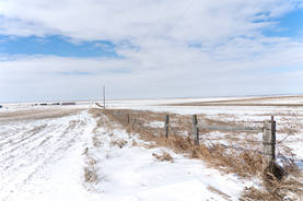 Ft. Pierre National Grasslands in Feb 2020