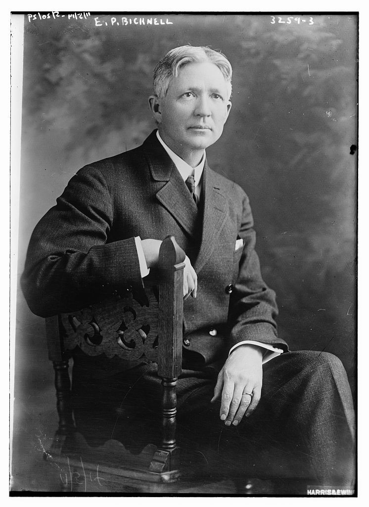E.P. Bicknell on 5 November 1914 when he was 55 years old