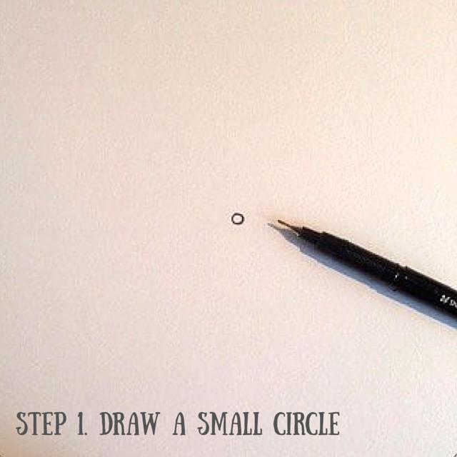 How to draw a mandala pt1