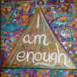 Intuitive Affirmation Painting