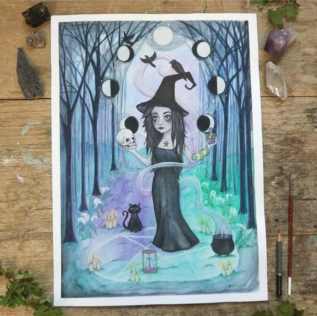 Dark Moon Witch