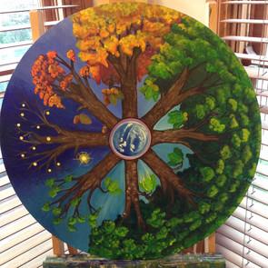 Oak Wheel Mandala