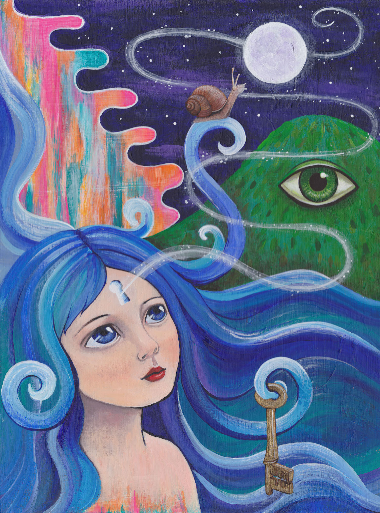 Faerie sarah art, sarah kilgariff artist, melbourne artist, visionary art