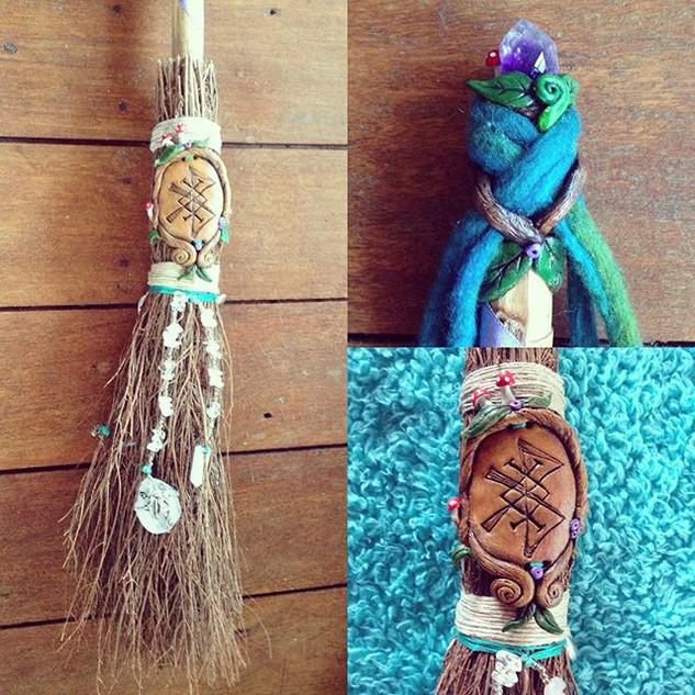 Custom Wedding Broomstick