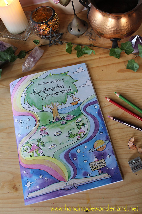 Handmade Wonderland Colour In Book