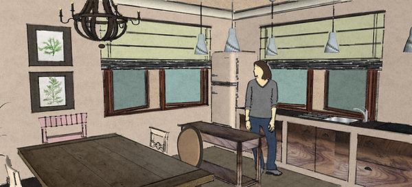 RabunaDesign návrhy interiéru kuchyně