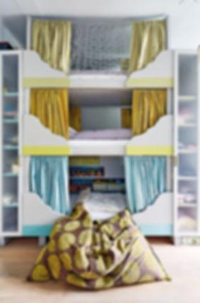 RabunaDesign dětský pokoj trojpalanda šedá