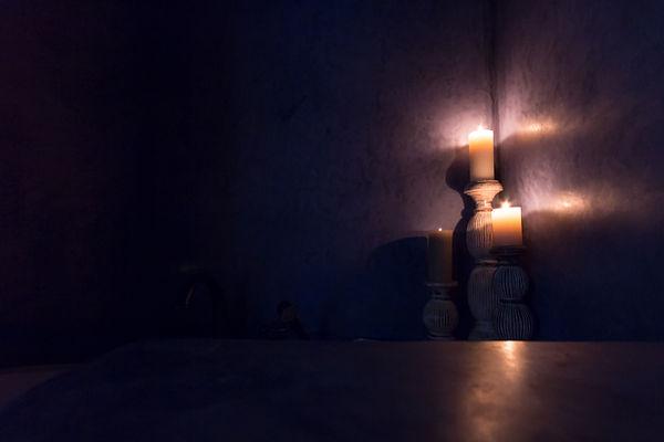 návrhy interiéru svíčky koupelna
