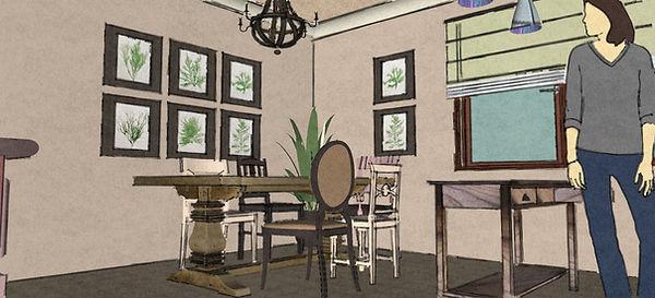 návrhy interiéru  kuchyně