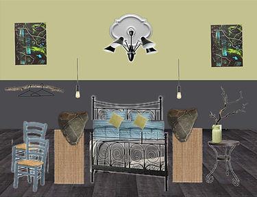 moodboard interior bedroom