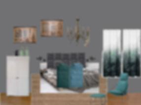 RabunaDesign moodboard návrhy interiéru