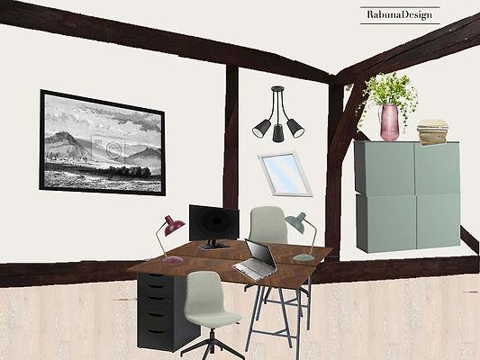 interiéroý design návrhy interirérů kancelář