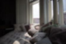 RabunaDesign, sezení u okna, polštářky