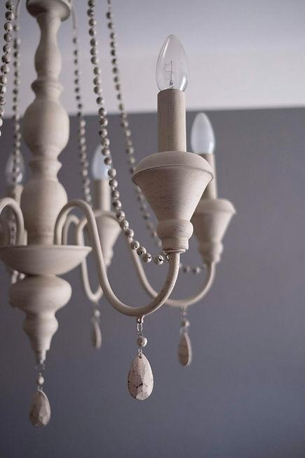 lustr shabby chic světlo osvětlení návrhy interiéru design rabunadesign