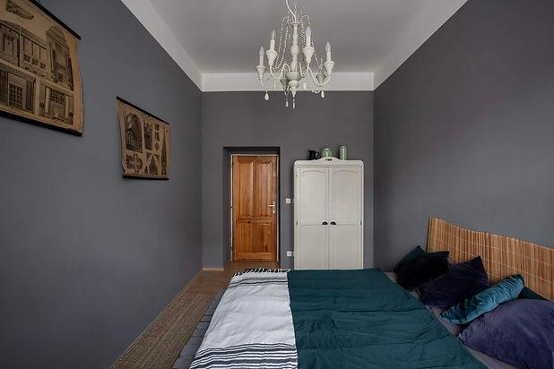 návrhy interiéru rabunadsign design ložnice byt bydlení