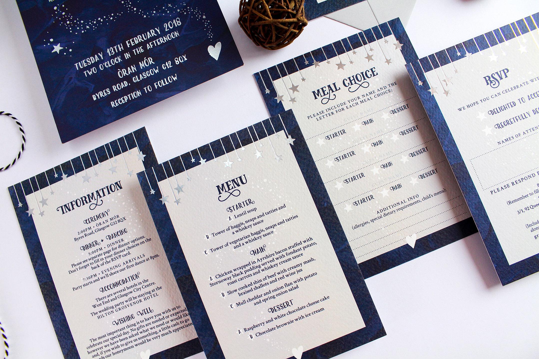 Wedding Stationery & Invitations • Two Tabbies • Glasgow