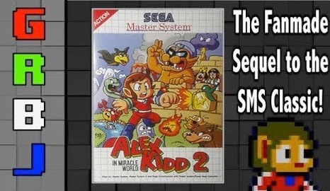 Alex Kidd in Miracle World 2 Review - The Fanmade Sequel to the SMS Classic! | GRbJ