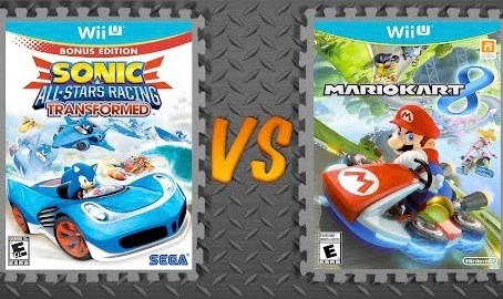 Sonic & All-Stars Racing Transformed vs. Mario Kart 8