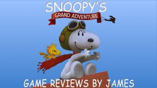Snoopy's Grand Adventure - Game Reviews by James