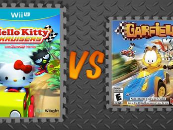 Hello Kitty Kruisers vs. Garfield Kart