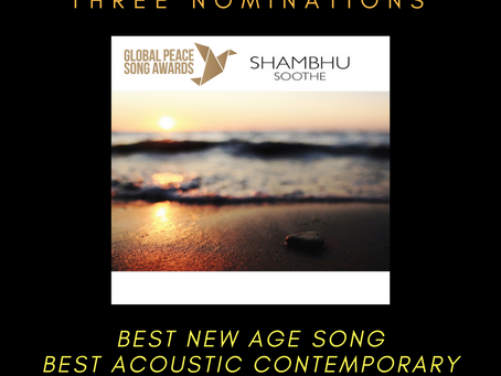 3 Nominations - Global Peace Song Awards