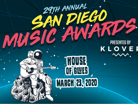 Lilac Skies Nominated for San Diego Music Award