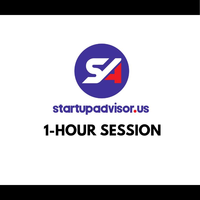 StartupAdvisor 1-Hour Session